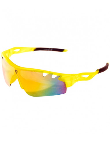 Gafas de Sol Trail Running Kamet Yellow Translucent - Skyrun